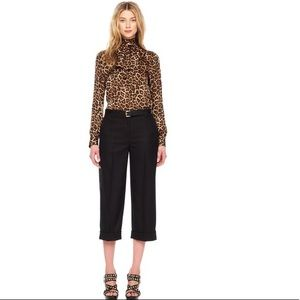 Jones New York Signature NWT black cuffed crops